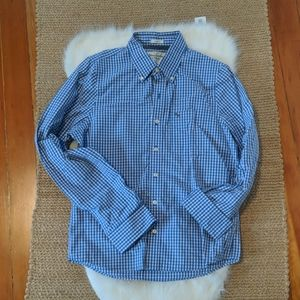 Abercrombie and Fitch blue checkered shirt  size L